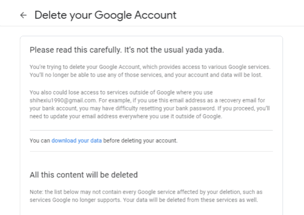 Gmail アカウント 削除 スマホ
