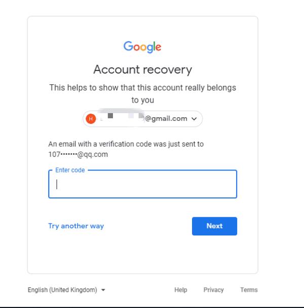 Google アカウント パスワード 再 設定