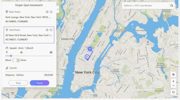 GPS 偽装 方法 iPhone