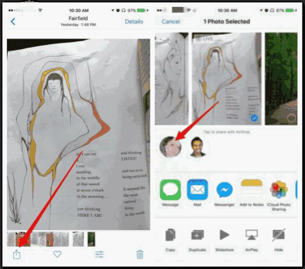 iPhone iPad 写真 同期