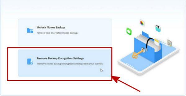 iPhoneバックアップパスワード再設定