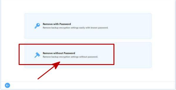 アイフォンバックアップ暗号化設置を解除