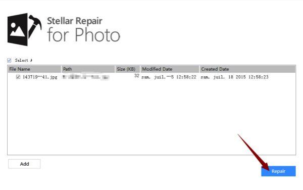 写真を修復
