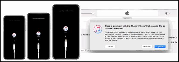 iPhone 画面 真っ暗